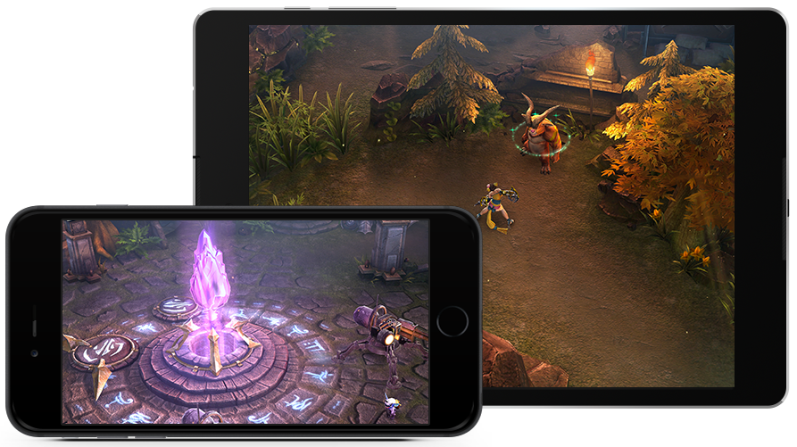 Exciting MOBA Gameplay on Your Touch Screen Device
