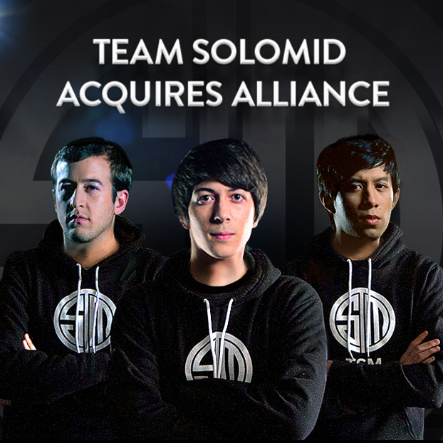 TSM ACQUIRES ALLIANCE ON EVE OF WINTER CHAMPIONSHIPS | Vainglory