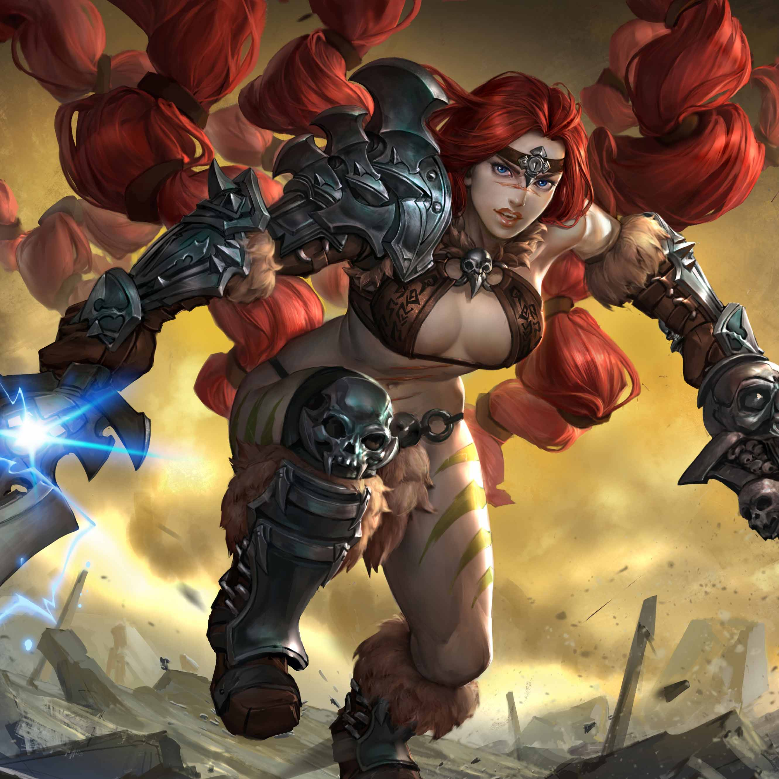 Check Out the Legendary 'Red' Rona skin!
