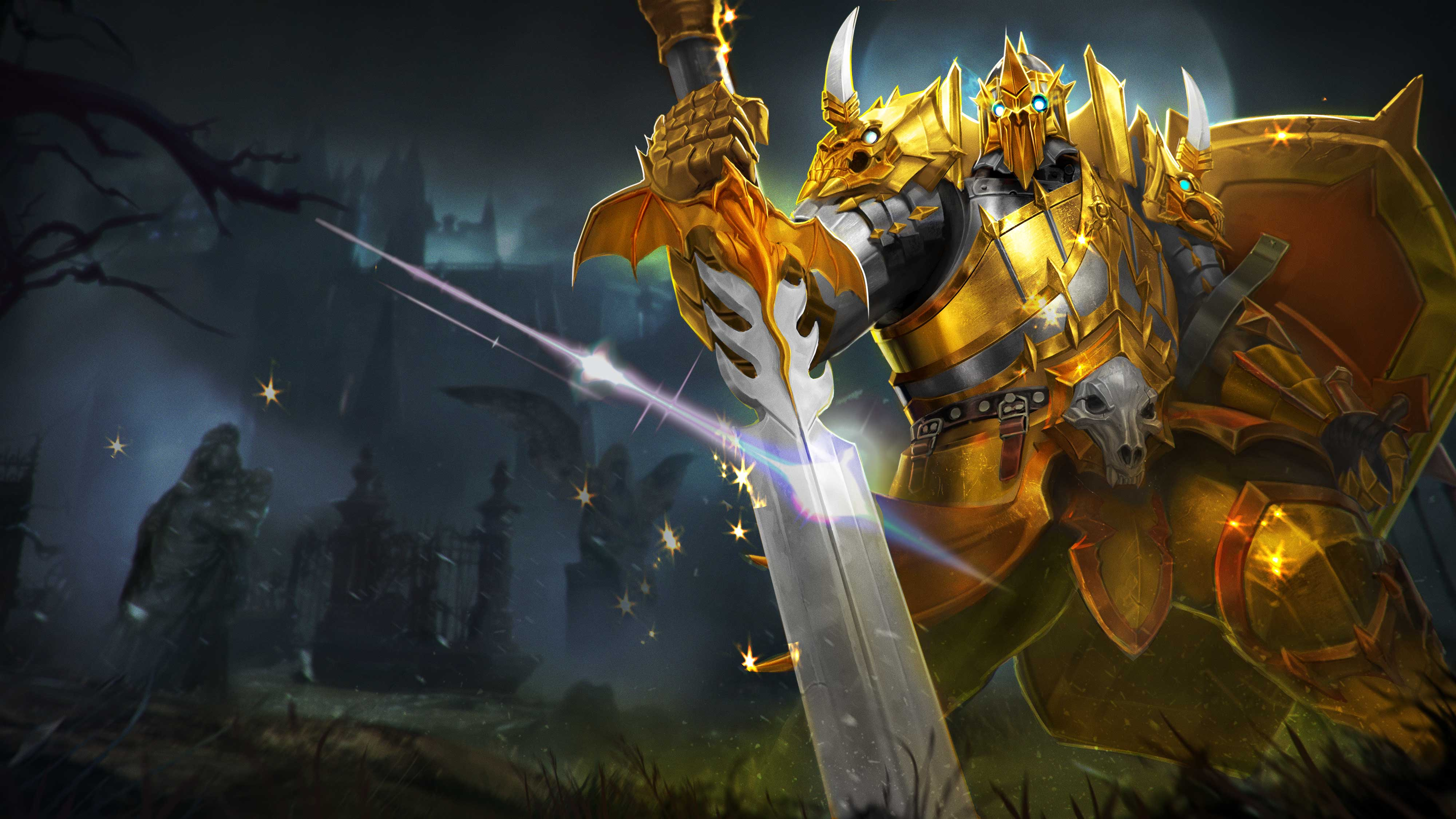 Update notes archives page 2 of 7 vainglory golden ticketholders get an exclusive limited edition golden netherknight lance skin this le skin will never be sold or available for unlock in any form malvernweather Choice Image