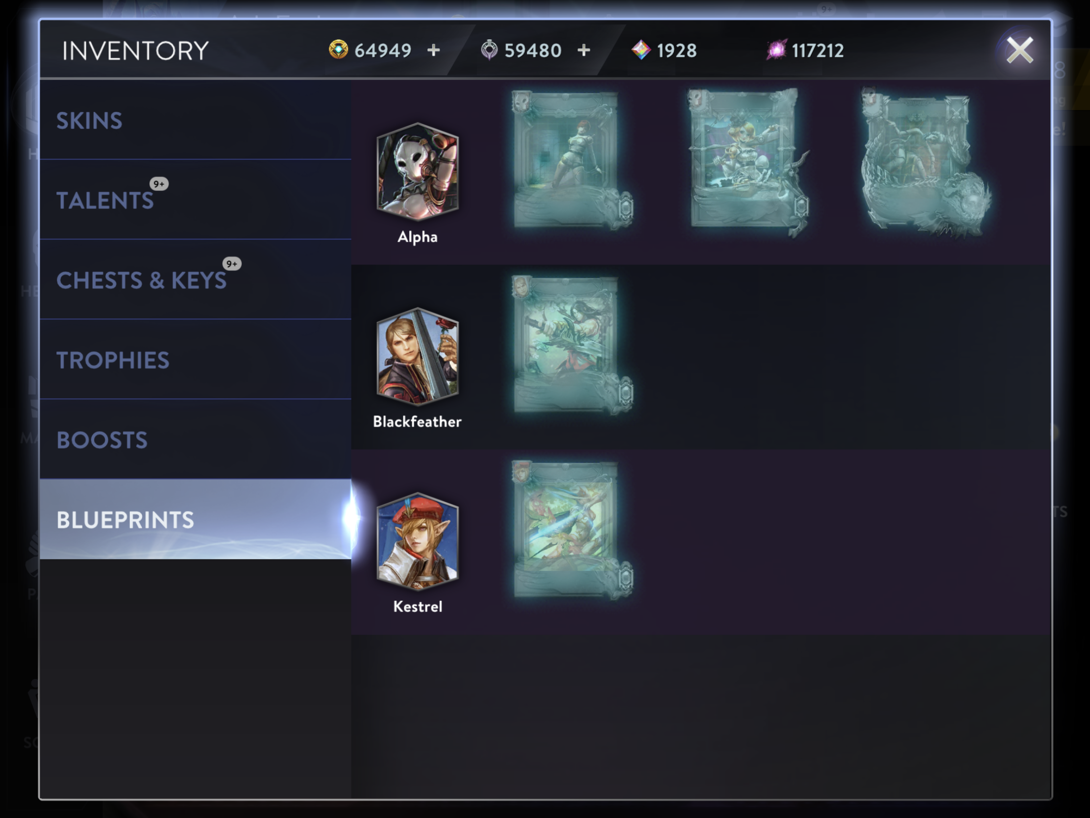 Events Archives Vainglory Indihome Sky Top Up 3 Gb From There Youll Have An At A Glance View Of The Things In Your Inventory Including Tab That Shows You Only Blueprints Own